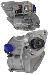 IMI128 Hi Torque Starter for Chevrolet 350 & 454 Engines with Bert, Falcon & Brinn Transmissions