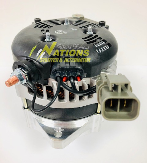 270xp High Amp Alternator For 2010 2015 Isuzu Nqr Trucks