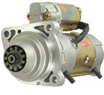 New Industrial OEM Starter, 12 volts, PLGR, CW, 11 teeth, Pinion Diameter: 1.583in - 40.2mm,  Application: Bobcat Applications