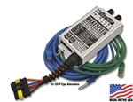 WS100 12 Volt Multi Stage Voltage Regulator with Alternator and Battery Temperature Sensors, Wiring Harness