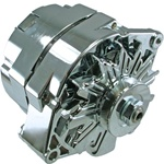 Chrome 100 Amp Alternator