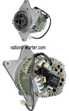 honda gl goldwind high output  amp alternator