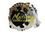 XP 270 High Amp Corvette Alternator Natural Finish - 1997 - 2010 Chevrolet C5 and C6 Corvette