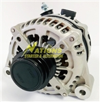 270XP High Amp Corvette Alternator for 1997 - 2010 Chevrolet C5 and C6 Corvette (Lester 13968 - Cast Frame)