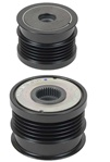 205-24001 NEW OEM BOSCH 5 GROOVE DECOUPLER PULLEY