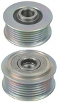 206-12014 NEW SERPENTINE CLUTCH PULLEY for Ford Expedition, Lincoln Navigator & Mazda MPV Applications