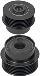 206-40000 NEW VALEO for CHEVY 6 GROOVE DECOUPLER PULLEY