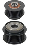 206-40001 NEW OEM BOSCH 6 GROOVE DECOUPLER PULLEY FOR CHEVROLET CORVETTE APPLICATIONS