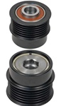 206-48003 NEW CHRYSLER 6 GROOVE DECOUPLER PULLEY for Mitsubishi Alternators on Chrysler, Dodge & Jeep Applications