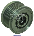 24-82275 6-Groove Clutch Pulley for Denso IR/IF Alternators on Volvo Applications (Lester 13845)