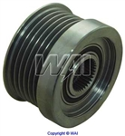 24-91104 6-Groove Clutch Pulley for Bosch IR/IF Alternators on Volvo Applications (Lester 13801)