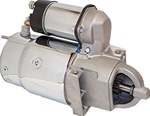 NEW MARINE STARTER, MERCRUISER, OMC, VOLVO CHROME