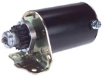 49-4701 New Briggs Starter with Long Field Case for Use with Engines with Plastic Ring Gear (Lester 5746)