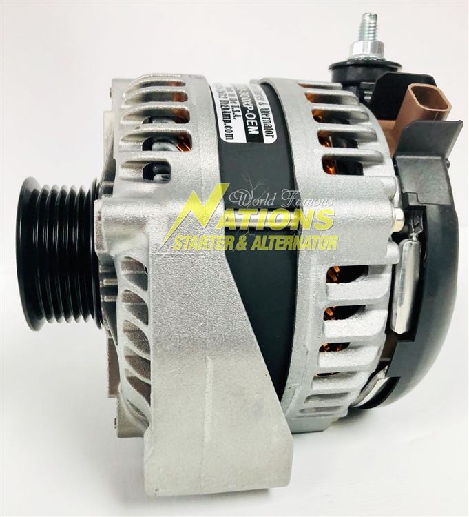 300XP High Amp Alternator for Isuzu NQR & NPR Trucks with Gas Engines (2010  - Current)