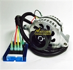 200 Amp High Output Externally Regulated Alternator for 2003-2004 Ford Mustang Terminator Cobra 4.6L DOHC Supercharger