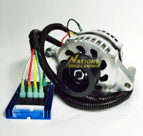 8304 200MF ER 2 amp high output externally regulated alternator for 2003 2004 ford Ford Wiring Harness Kits at reclaimingppi.co