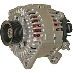 This 240 Amp Nissan High Ouptput Alternator Fits All 1995 2008 Maxima And Altima Penger Cars With The Vq30de Vq35de V6 Engines