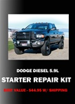 Dodge Diesel 5.9L Solenoid Repair Kit with Plunger & 2 contacts Item # DDRK