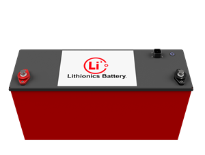Lithionics 12 Volt 315AH E2107 GTX Battery with Built in Heater