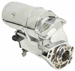 S5040-NC 2.4 KW High Torque Chrome Harley Davidson Starter for (Lester 18907C)