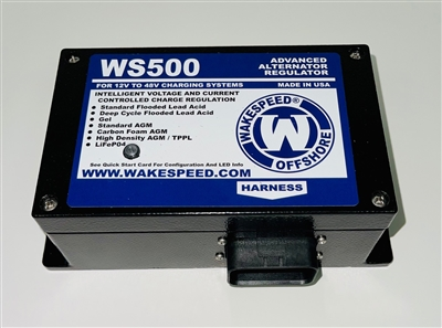 WS500 Advanced Alternator Regulator from Wakespeed