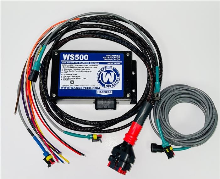 Ws500 Advanced Alternator Regulator From Wakespeed